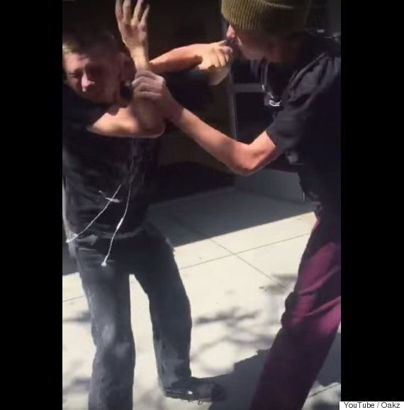 Bully Punches Blind Boy And Is Immediately Taught A Lesson In