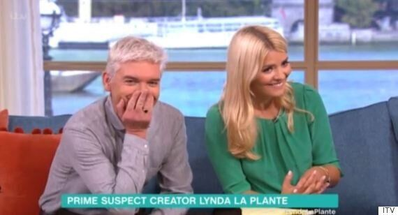 'This Morning': Lynda LaPlante Reduces Phillip Schofield And Holly Willoughby To Giggles With X-Rated...