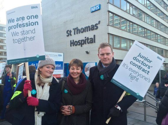 Why I Joined Junior Doctors on the Picket Line This