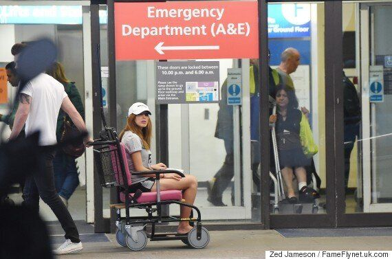 'Celebrity Big Brother': Farrah Abraham Photographed In Wheelchair, Following 'Bit On The Side' Brawl