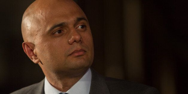 Too extreme: Business Secretary Sajid Javid speaks at the Citizens UK event at Westminster Central Hall...