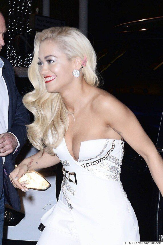 Rita Ora Narrowly Avoids A Wardrobe Malfunction At Cannes Film Festival As Madonna Collaboration Rumours