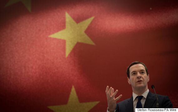 George Osborne Praised For Not Mentioning Chinese Human Rights Abuses During China