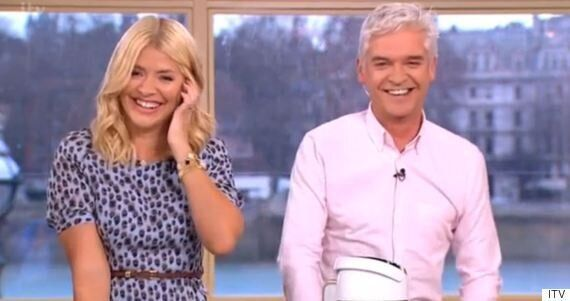 This Morning's Phillip Schofield And Holly Willoughby Reduced To Giggles As He Makes Innuendo About 'Whizzing...