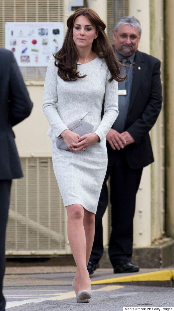 Duchess Of Cambridge Wears Silver Tweed Dress: Here's How To Steal Her
