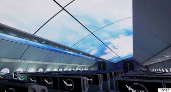 Boeing's Airplane Cabin Of The Future Has A Virtual