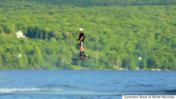 Genuine Hoverboard Sets A Guinness World Record For Furthest Distance