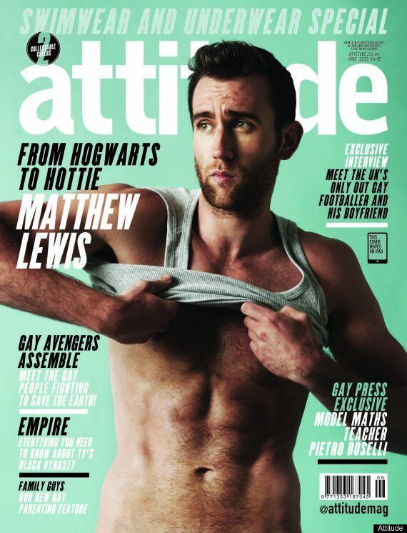 Matthew Lewis Pleads With Admirers Of Those Semi-Naked Pictures To Stop Sending Him Dirty Tweets. Errrm,...