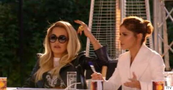 'X Factor' 2015: Cheryl Fernandez-Versini And Rita Ora Have Their First Fallout At Bootcamp Over The...