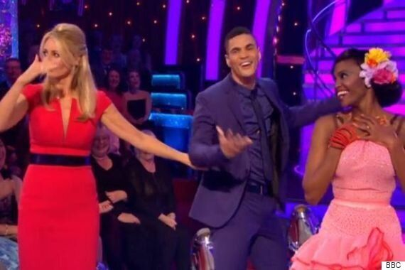 'Strictly Come Dancing' 2015: Anthony Ogogo Suffers Wardrobe Malfunction As His Trousers Split During...