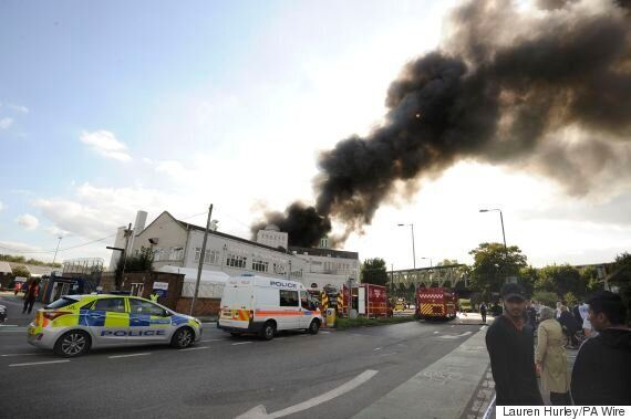 Mosque Fire In Morden Tackled By 10 Fire Engines And 70