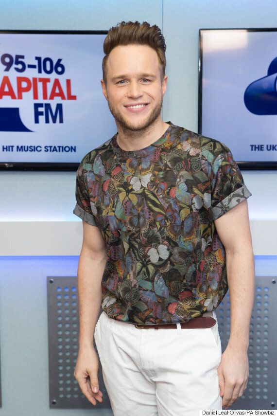 'X Factor' Host Olly Murs Splits From Girlfriend Francesca