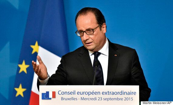 France Has Fired Its First Airstrikes In Syria Against Islamic State, President Francois Hollande