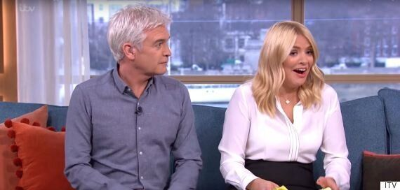 Phillip Schofield Shocks Holly Willoughby With 'Brazilian' Joke About Loose Women's Andrea McLean On...