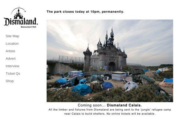 Banksy's Dismaland To Be Sent To Calais To Provide Shelter For