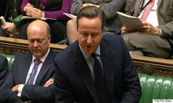 PMQs: David Cameron Accused Of 'S****ing All Over The Working