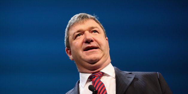 BIRMINGHAM, ENGLAND - SEPTEMBER 17: Chief Whip Alistair Carmichael speaks during the Liberal Democrat...