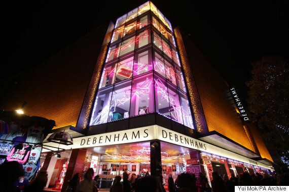Debenhams: Woman Falls From Fourth-Floor Escalator In Oxford Street In Front Of Horrified