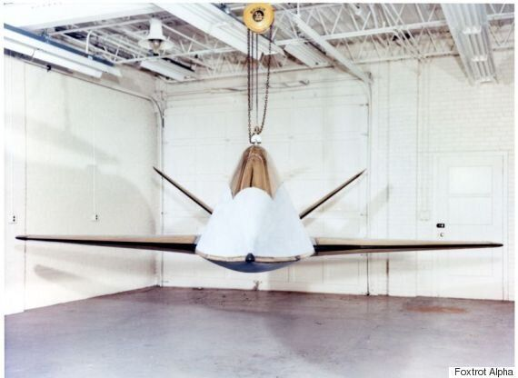 Boeing's 'Alien' Looking Stealth Fighter From The 60s Looks Futuristic Even