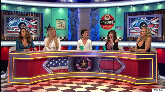 'Celebrity Big Brother's Bit On The Side Fight': Farrah Abraham And Janice Dickinson Given Police Cautions...
