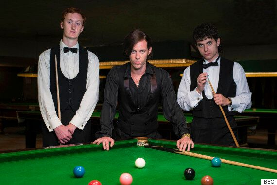 BBCiPlayer Drama 'The Rack Pack' Plays Out 1980s Snooker Rivalry Of Alex 'Hurricane' Higgins And Steve