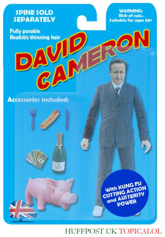 David Cameron Action Figure: Buy It Now From Tories R