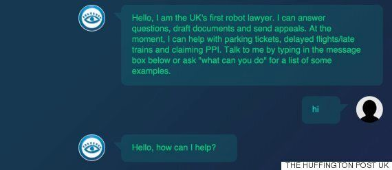 Teenager Build 'UK's First Robot Lawyer' To Give Public Free Legal
