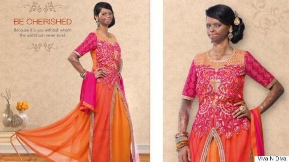 Acid Attack Survivor Laxmi Saa Becomes Face Of Fashion