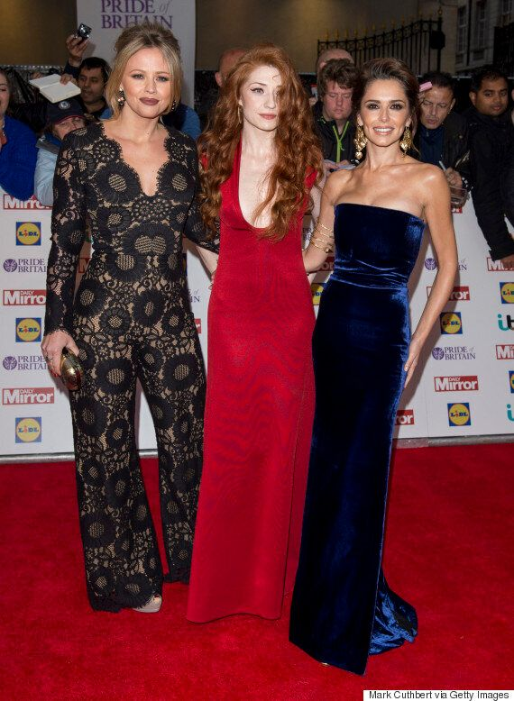 Pride Of Britain Awards: Cheryl Fernandez-Versini Reunites With Girls Aloud Bandmates Nicola Roberts...