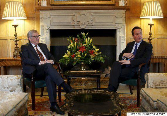 David Cameron Evokes Winston Churchill In Meeting With EU President Jean-Claude
