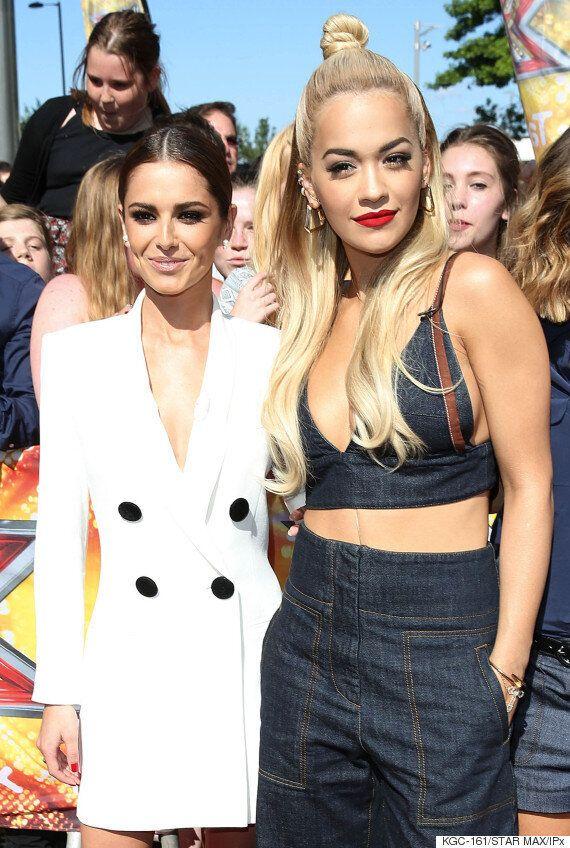X-Factor Judges Rita Ora And Cheryl Fernandez-Versini Share Their Beauty