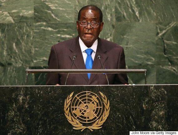 Robert Mugabe Shouts 'We Are Not Gays' At UN General