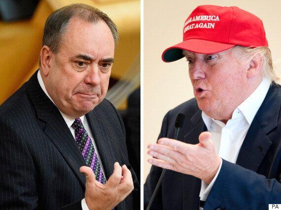 Donald Trump Calls Alex Salmond A 'Stupid Man' And 'An Embarrassment To Scotland' Over Al-Megrahi
