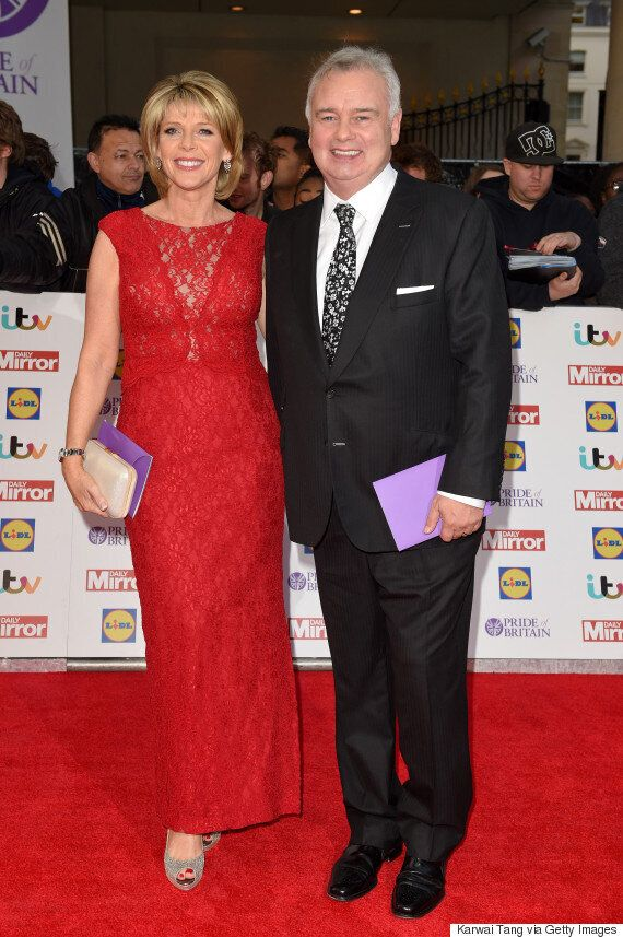 Pride Of Britain Awards: Amanda Holden Turns Heads In Revealing Dress, As She Leads Ladies In Red At