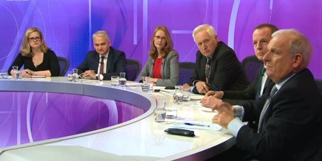 BBC Question Time Criticised By Viewers On Twitter For 'Right-Wing', 'Unbalanced'