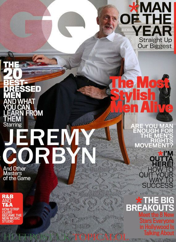 Jeremy Corbyn Named GQ Man Of The
