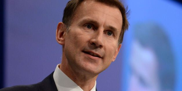 File photo dated 06/10/15 of Health Secretary Jeremy Hunt, who has said that health officials are