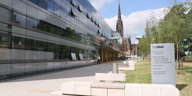 The Hub Building, Coventry University.© Image & Design Ian Halsey