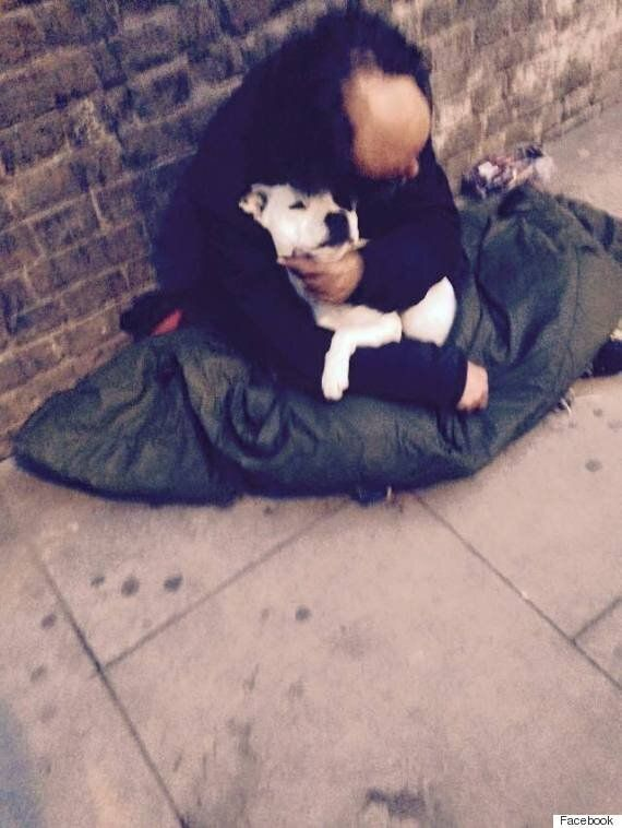 Homeless Man Michael Reunited With Beloved Dog Treacle Stolen By Policeman