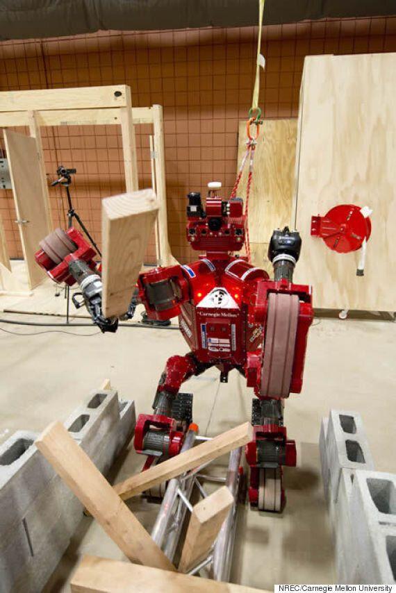 Meet 'CHIMP', A DARPA Robotics Challenge Entry Designed To Save