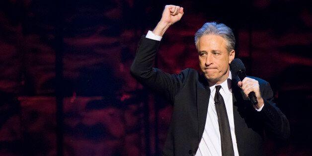 Jon Stewart hosts Comedy