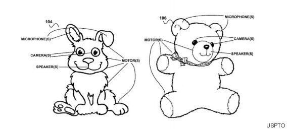 Google's Looking To Patent Creepy Toys That'll Spy On Your