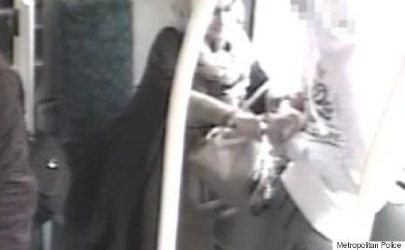 London Bus CCTV Footage Captures Moment Woman Tries To Stab