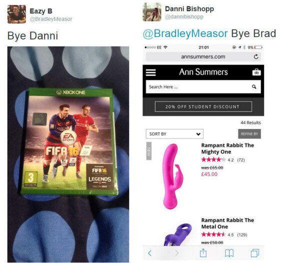 Girlfriend Has Epic Response To Her Boyfriend's 'FIFA 16'