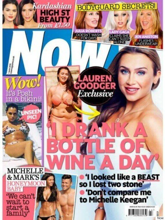 Lauren Goodger Talks Mark Wright And Michelle Keegan's Wedding: 'We're Not In Competition... I Wish Them...