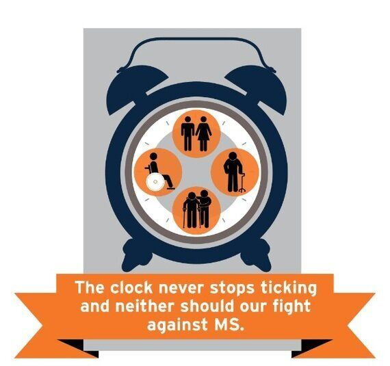 The Clock Never Stops With Multiple Sclerosis and Neither Will Our Fight Against