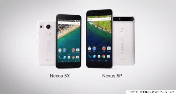 Google Unveils LG Nexus 5X And Huawei Nexus 6P Smartphones With Android