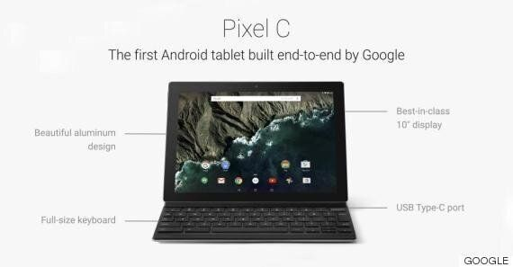 Google's New Pixel C Tablet Takes Aim At The iPad