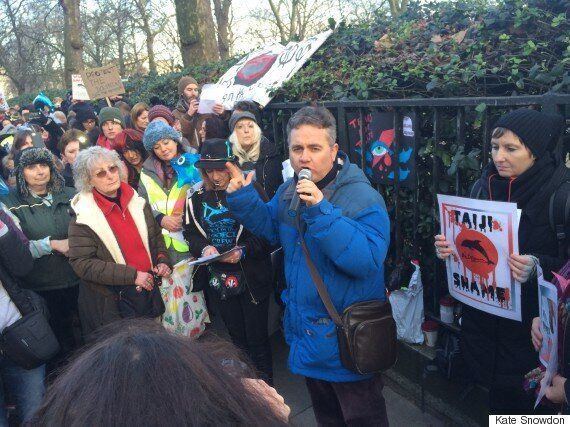 David Bowie's 'Heroes' Sang By Dolphin Activists Outside Japanese Embassy At Taiji Demonstration In