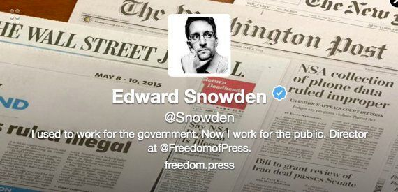 Edward Snowden Joins Twitter, Asks: 'Can You Hear Me